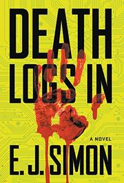 DEATH LOGS IN by E. J. Simon