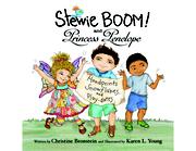 Stewie BOOM! and Princess Penelope by Christine Bronstein