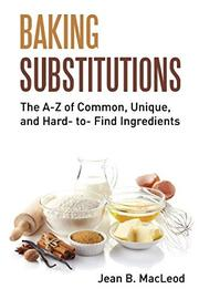 BAKING SUBSTITUTIONS by Jean B.  MacLeod
