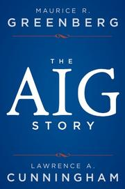 Book Cover for THE AIG STORY