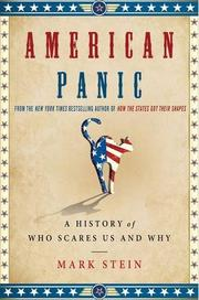 AMERICAN PANIC by Mark Stein