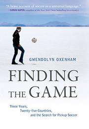 FINDING THE GAME by Gwendolyn Oxenham