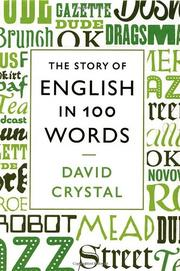Book Cover for THE STORY OF ENGLISH IN 100 WORDS