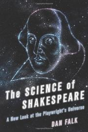 THE SCIENCE OF SHAKESPEARE by Dan Falk