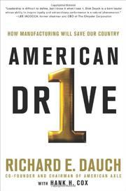 AMERICAN DRIVE by Richard Dauch