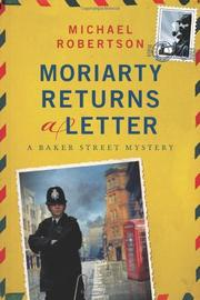 MORIARTY RETURNS A LETTER by Michael Robertson