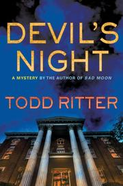 DEVIL'S NIGHT by Todd Ritter
