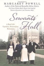 SERVANTS' HALL by Margaret Powell