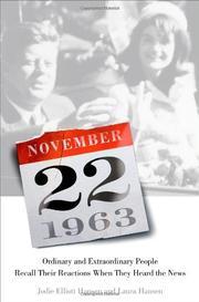NOVEMBER 22, 1963 by Jodie Elliott Hansen