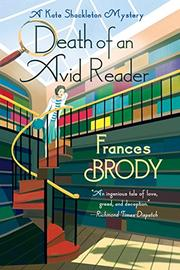 DEATH OF AN AVID READER by Frances Brody