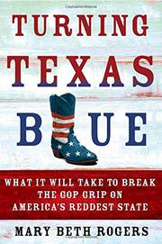 TURNING TEXAS BLUE by Mary Beth Rogers