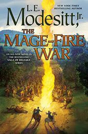 THE MAGE-FIRE WAR  by L.E. Modesitt Jr.