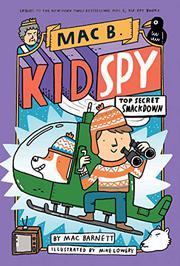 TOP-SECRET SMACKDOWN by Mac Barnett