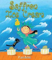 SAFFRON ICE CREAM by Rashin Kheiriyeh