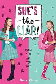 SHE'S THE LIAR by Alison Cherry