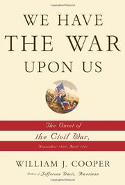 Cover art for WE HAVE THE WAR UPON US
