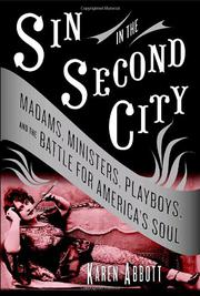 Cover art for SIN IN THE SECOND CITY