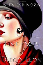 Cover art for THE FIVE ACTS OF DIEGO LEÓN