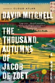 Cover art for THE THOUSAND AUTUMNS OF JACOB DE ZOET