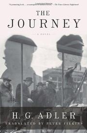 THE JOURNEY by H.G. Adler