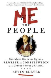 Book Cover for ME THE PEOPLE