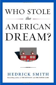 Book Cover for WHO STOLE THE AMERICAN DREAM?