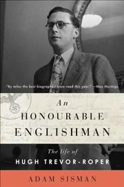 AN HONOURABLE ENGLISHMAN by Adam Sisman