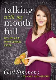 Book Cover for TALKING WITH MY MOUTH FULL