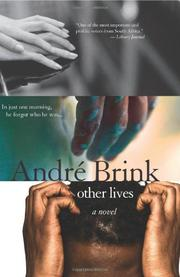 OTHER LIVES by André Brink