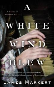 Book Cover for A WHITE WIND BLEW
