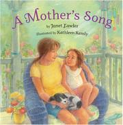 Cover art for A MOTHER'S SONG