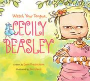 Book Cover for WATCH YOUR TONGUE, CECILY BEASLEY