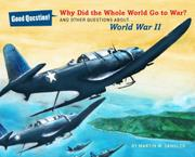 WHY DID THE WHOLE WORLD GO TO WAR? by Martin W. Sandler
