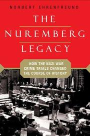 THE NUREMBERG LEGACY by Norbert Ehrenfreund