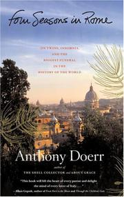 Book Cover for FOUR SEASONS IN ROME