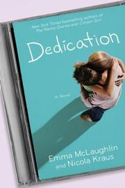 DEDICATION by Emma McLaughlin