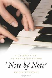 NOTE BY NOTE by Tricia Tunstall