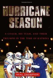 HURRICANE SEASON by Neal Thompson