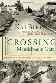 Cover art for CROSSING MANDELBAUM GATE