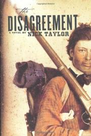 THE DISAGREEMENT by Nick Taylor