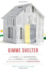 GIMME SHELTER by Mary Elizabeth Williams
