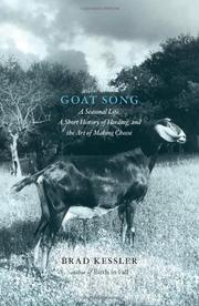 GOAT SONG by Brad Kessler