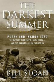 THE DARKEST SUMMER by Bill Sloan