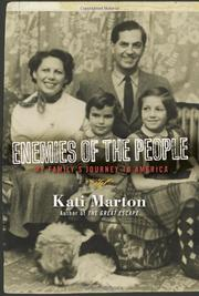ENEMIES OF THE PEOPLE by Kati Marton