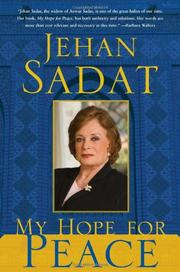MY HOPE FOR PEACE by Jehan Sadat