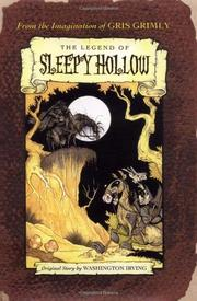 Cover art for THE LEGEND OF SLEEPY HOLLOW