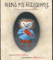 Book Cover for HANS MY HEDGEHOG