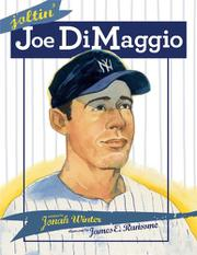JOLTIN' JOE DIMAGGIO by Jonah Winter