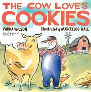 Book Cover for THE COW LOVES COOKIES
