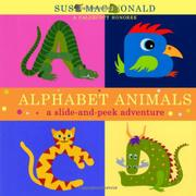 ALPHABET ANIMALS by Suse MacDonald